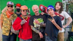 SURFBORT Teams with 'Jackass' Players and Linda Perry on New Track + Video, 'Whiteclaw'