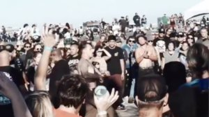 Throngs of Punk Rock Fans Attend So Cal HoeDown at Port of Los Angeles